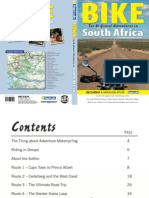 BIKE Tar & Gravel Adventures in South Africa ISBN 9781770262942