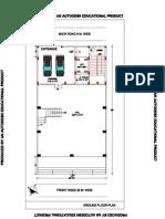 Ground Floor Plan-model 01