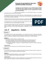 Interpretaciones Fiba (Septiembre 2012)