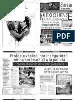 Versión impresa del periódico El mexiquense 28 febrero 2013