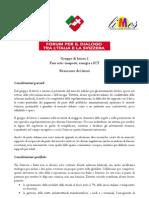 Forum Italia-Svizzera Fare rete