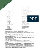 Lista de Piezas - Orbitrol