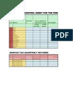 779778 54705 Service Tax Vat Cst Control Sheet