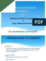 Basics of PRC 1