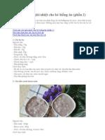 Cach Nau Che Giai Nhiet Cho Be Bieng an (Phan 2)