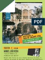 Programa Aniversaio Casa Cha Net