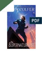 Eoin Colfer - Supernaturalist