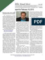 385 - Benjamin Fulford Report for February 18, 2013