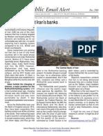 399 - Rothschild's want Iran's banks