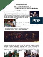 Actividades CMSE 2012