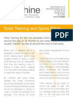 Toilet Training and Spina Bifida