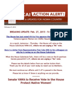 VAWA Alert Action - BREAKING UPDATE