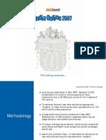 JuxtConsult Snapshot India Online 2007