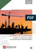 Secteur Construction Moteur de Croissance Pour Economie Belge Tcm326-96602