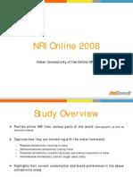 Toplines - JuxtConsult NRI Online 2008