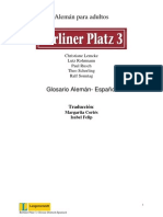 Glossar Deutsch Spanisch BP3