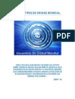 Informe - Encuentros de Unidad Mundial