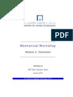 Atm-1022 Mechanical Workshop Module 4