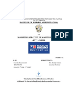 Marketing Strategy of Maruti Suzuki