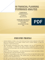 A Study on Financial Planning and Performance Analysis