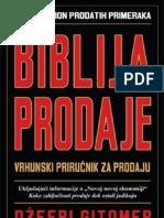 Biblija Prodaje - Dzefri Gitomer