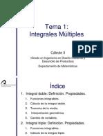 Tema 1. Integrales Multiples