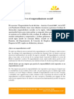 Emprendedurismosocialq&A