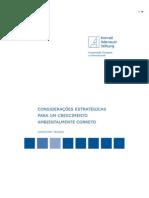 Considerações estratégicas para um desenvolvimento ambientalmente correto