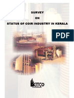 Survey on Status of Coir Industry in Kerala
