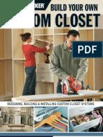 Black & Decker Build Your Own Custom Closet+OCR