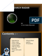 Search Radar