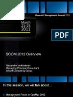 SCOM2012_TechnicalOverview