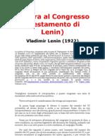 Lettera o Testamento di Lenin