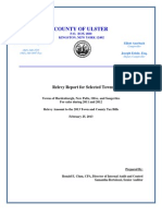 Ulster County report on Property Relevies