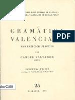 Salvador Gramatica Valenciana 1972 1