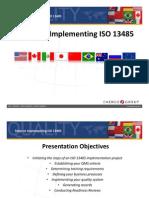 Iso 13485 Webinar Slides