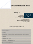 Corporate Goverance in India