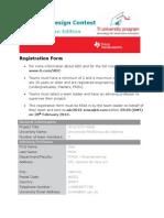 Adc2013 Registration Form