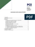 Manual Anemometro Hilo Caliente PCE 009