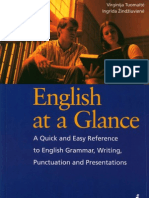 English at a Glance