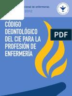 Código del CIE 2012