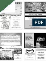 FBC Newsletter 03 2013