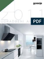 Gorenje - Katalog Ugradbeni Aparati 2011