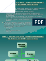 CURS 2 Factori Ecologici