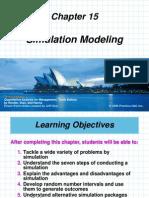 Chap 15 Simulation Modeling