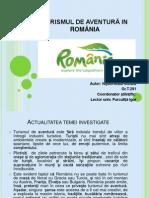 TURISMUL DE AVENTURA IN ROMÂNIA