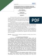 Kamp-10 Pengaruh Intervening Penggunaan Sistem Akuntansi