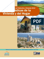Censo 2010 Vol 2 Características de la Vivienda y del Hogar