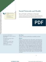 Redes Sociales y Salud Annurev.soc.34.040507