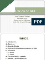 Separación de BTX